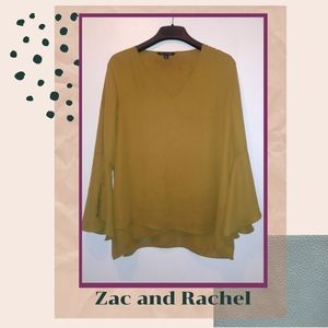 Zac and Rachel  Olive Green Blouse